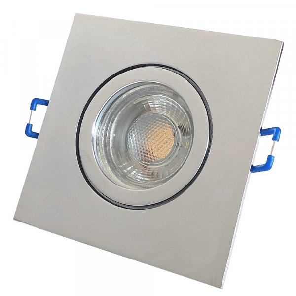 Flacher 5W LED Bad Einbaustrahler Marin 230Volt / IP44 / LED Modul