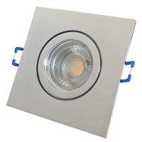 Flacher 5W LED Bad Einbaustrahler Marin 230Volt / IP44 / LED Modul