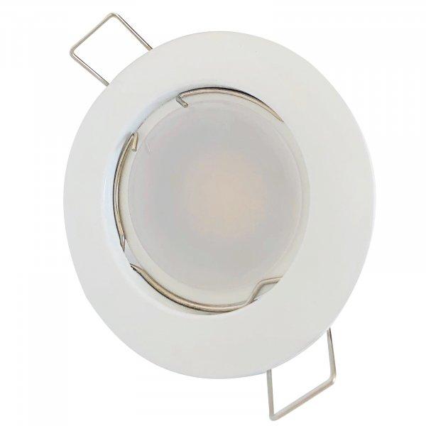 SMD LED Einbaustrahler Tom | 230Volt | 9 Watt | 900  Lumen | Weiss