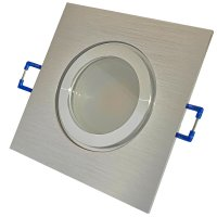 9 Watt / LED Badezimmer Einbauspot Marin 230Volt / IP44 / 900 Lumen / Ø=83mm