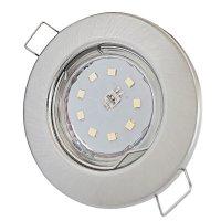 LED Einbaustrahler Tom | Flach | 230V | 5W | ET-28mm |...