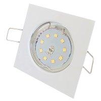 Flache SMD LED Einbaustrahler Tom / 230V / 5W / dimmbar / Eckig