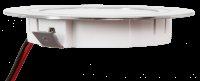 5 Stück Flache LED Möbel Einbaustrahler Mira - 12V - 2,4W - Loch 58 - 60mm
