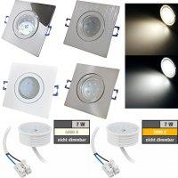 LED Einbaustrahler Marin / 230V / 7W / Loch = 60 - 68mm /...