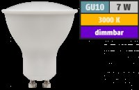 DIMMBAR / LED Einbaustrahler Tomas / 230Volt / 7Watt / 520Lumen / Gu10