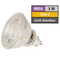 3W LED Bad Einbaustrahler Marina   12V   IP44   Rund   Klares Schutzglas   Ohne Transformator