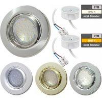 Flacher SMD LED Einbaustrahler Tomas | 230V | 7Watt |...