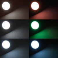 LED Einbaustrahler Tom   230V   5W   Smart Wifi   RGB + CCT   Silber   GU10