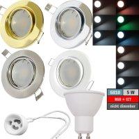 LED Einbaustrahler Tomas | 230V | 5W | Smart Wifi | RGB +...
