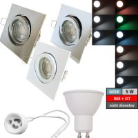 LED Einbaustrahler Dario | 230V | 5W | Smart Wifi | RGB +...