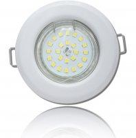 LED Einbaustrahler Tom | Flach | 230V | 7W | ET-30mm |...