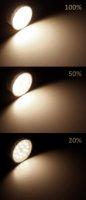 LED Einbaustrahler Tom   Flach   230V   7W   ET-30mm   Weiss   STEP DIMMBAR