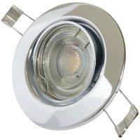 Einbaustrahler Tomas / LED Leuchtmittel 230Volt / 7Watt / dimmbar