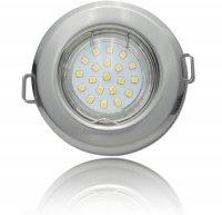 SMD LED Einbaustrahler Tom / 230Volt / 7Watt / 470Lumen /...