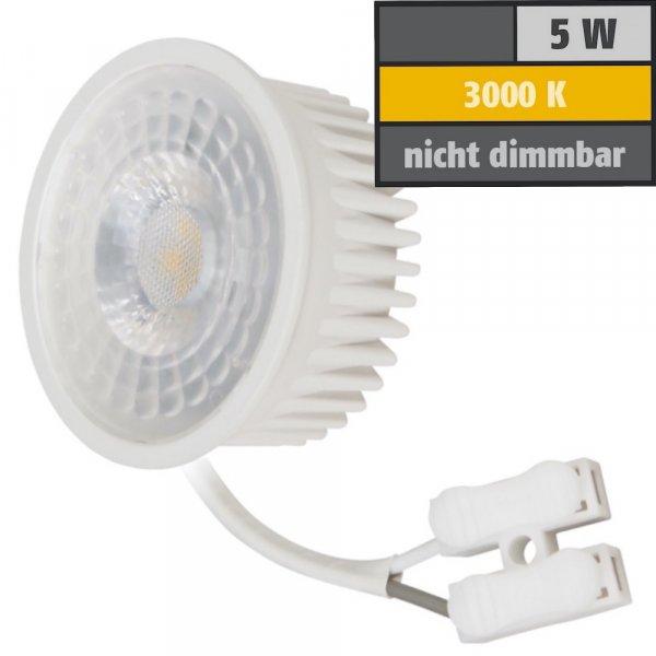 MCOB LED-Modul, 5Watt, 400 Lumen, 230Volt, 50 x 23mm, Warmweiss 3000Kelvin