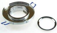 Runder Glas Einbaustrahler Laura | LED | 230Volt | 5Watt | Starr | Klarglas