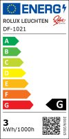 Flache LED Einbauspots Lina / 12Volt / 3W / Kabelbaum / Stecker/ Verteilerleiste / LED Trafo / 230V Zuleitung