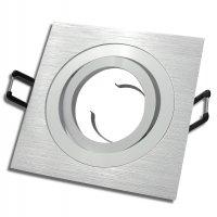 Einaustrahler Mia / LED / 7Watt / 230Volt / Dimmbar / Aluminium / Hochglanz Clipring