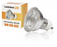 3Watt | MCOB LED Leuchtmittel 230Volt | WARMWEISS | 230 Lumen | Sockel Gu10