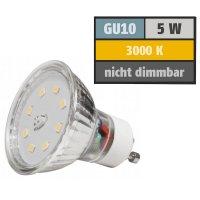 SMD LED Leuchtmittel 230Volt - 5Watt - WARMWEISS...