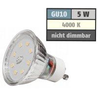SMD LED Leuchtmittel 230Volt - 5Watt - NEUTRALWEISS...