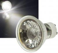 Einaustrahler Mia / LED / 7Watt / 230Volt / Dimmbar / Schwarz / Hochglanz Clipring