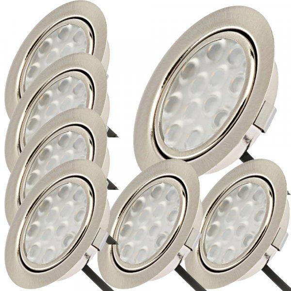 7er Set mit 2 x 15W LED Trafos